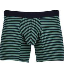bóxer rayas horizontales color azul, talla m