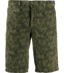 altea embroidered tailored shorts - green