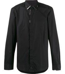 diesel s-marlene double-twisted shirt - black
