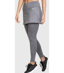 legging long skirt award gris everlast