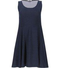 vestido puntos color azul, talla s