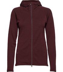w's wooler houdi sweat-shirts & hoodies mid layer jackets rood houdini