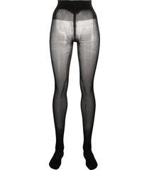 wolford comfort cut 40 tights - black
