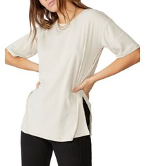 cotton on bella drop shoulder short sleeve top