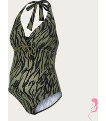mamalicious zwangerschapsbadpak / positiebadpak zebra