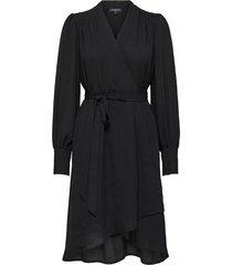 midi jurk alva zwart