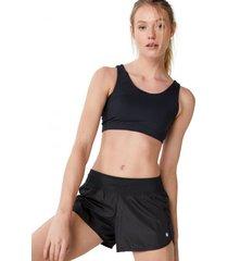 amaro feminino shorts runner, preto