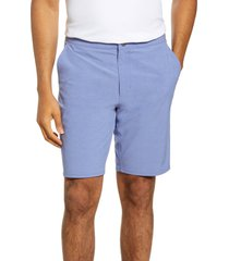 men's johnnie-o dawn 2 dusk hybrid shorts, size 40 - blue