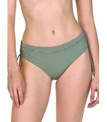 bikini lisca ancona shirred side swimsuit kousen