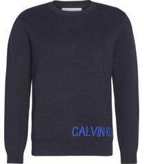 ck jeans on back azul calvin klein