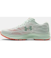 zapatilla blanca under armour charged bandit 6