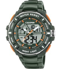 reloj street style verde oscuro calypso