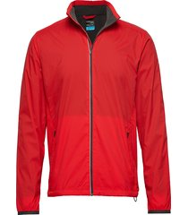 mens incline windbreaker outerwear sport jackets rood icebreaker