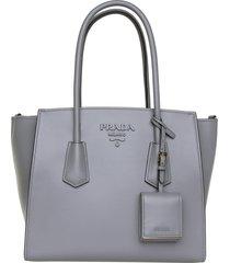 prada prada logo shoulder bag