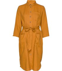 barbettespw dr jurk knielengte geel part two