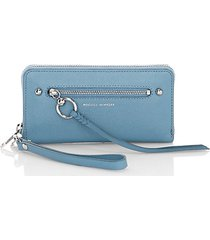 gabby leather phone wallet