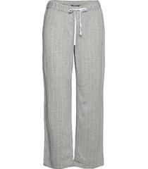 lrl separate long pants pyjamasbyxor mjukisbyxor grå lauren ralph lauren homewear