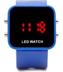 reloj digital azul color azul, talla uni