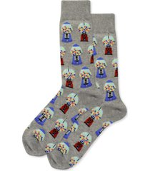 hot sox men's gumballs crew socks