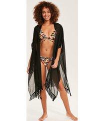 black beach kimono