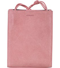 jil sander twisted strap shopper bag