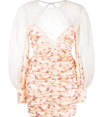 for love and lemons aster dress - pink
