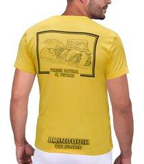 camiseta amarilla parques naturales cht
