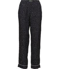amélie printed trousers casual broek zwart morris lady