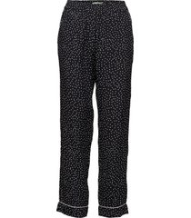 amélie printed trousers casual broek zwart morris lady