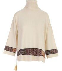 etro pasadena poncho sweater