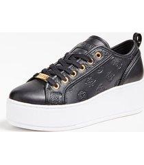 sneakersy z błyszczącymi wstawkami model neeka