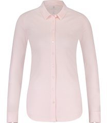 desoto eve dames overhemd licht plain stretch