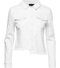 madrid jacket jeansjacka denimjacka vit svea