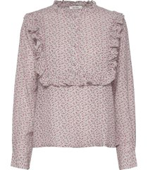 jacqueline shirt blouse lange mouwen roze nué notes