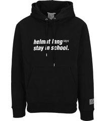helmut lang school hoodie
