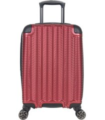 """kenneth cole reaction wave rush 20"""" hardside carry-on spinner"""