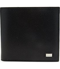 beisel leather bi-fold wallet