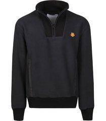 kenzo polar fleece high sweatshirt