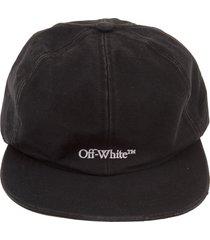 man black baseball cap with white front logo