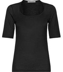 paolina t-shirts & tops short-sleeved zwart tiger of sweden