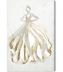 "oliver gal elegant dress flow iii canvas art - 15"" x 10"" x 1.5"""