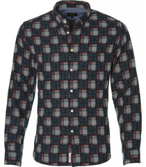 pepe jeans overhemd - slim fit - blauw