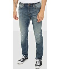 nudie jeans steady eddie ii broken love jeans denim