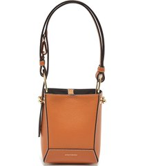 'lana nano' panelled bucket shoulder bag
