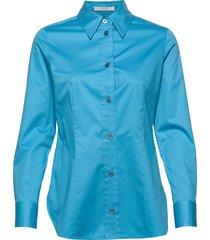 bavidbo långärmad skjorta blå boss