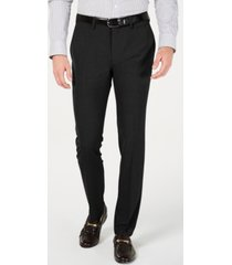 kenneth cole reaction men's gabardine skinny/extra-slim fit performance stretch flat-front dress pants