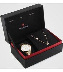 relógio technos 2015ccp/k4k dourado