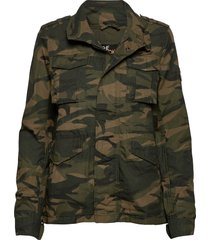 ripstop rookie jacket outerwear jackets utility jackets groen superdry