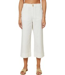 women's o'neill anson woven crop pants