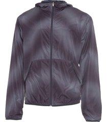 jaqueta masculina corta vento halftone - preto